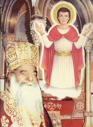 Pope St. Kyrillos VI and St. Mina