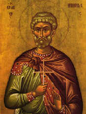 Greek Icon of St. Menas